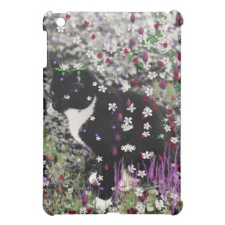 Freckles in Flowers I - Tux Cat Case For The iPad Mini