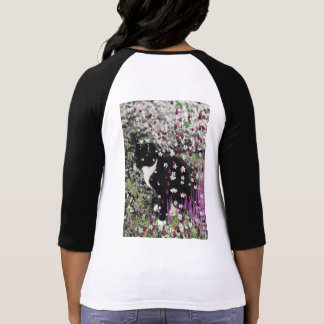 Freckles in Flowers I - Tux Kitty Cat T Shirts