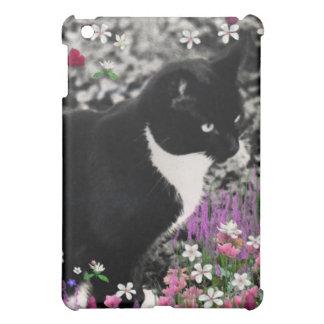 Freckles in Flowers II - Tux Kitty Cat iPad Mini Case