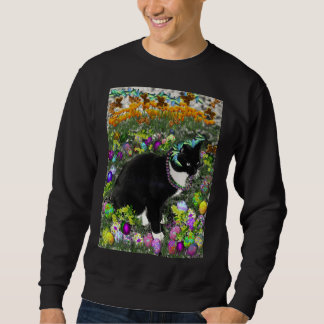 Freckles in the Hunt for Colored Easter Eggs Sweatshirt