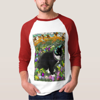 Freckles in the Hunt for Colored Easter Eggs T Shirt