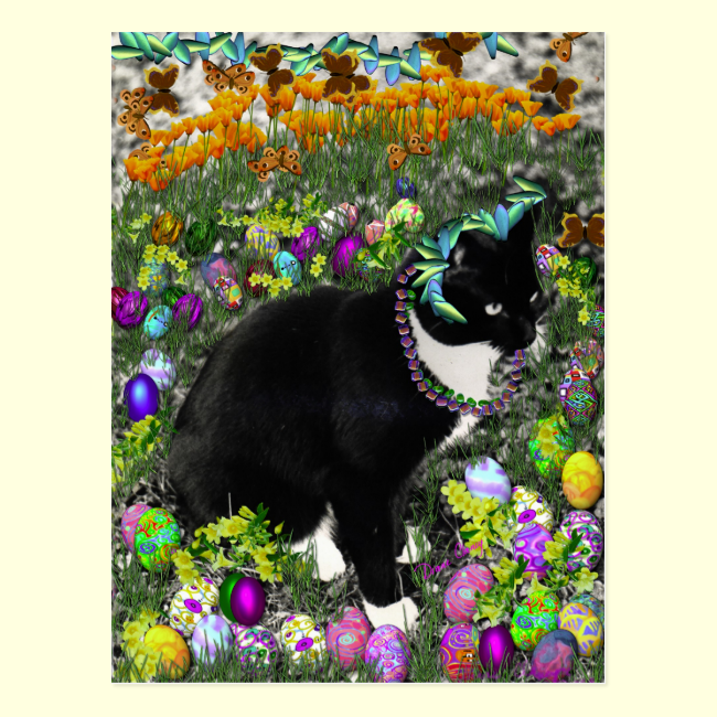 Freckles in the Hunt for Easter Eggs Post Cards