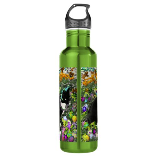Freckles in the Hunt for Easter Eggs Stainless Steel Water Bottle