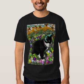 Freckles, Tux Cat, in the Hunt for Easter Eggs Tees