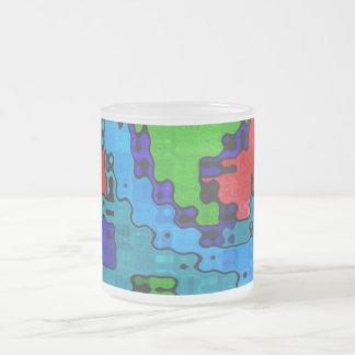 Frecuencia revuelta - extracto fresco loco taza de cristal