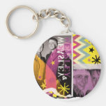 Fred and George Weasley Basic Round Button Keychain