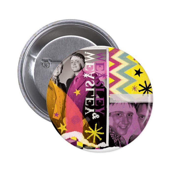Fred and George Weasley Pinback Button