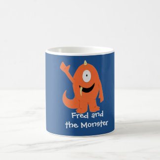 Fred and the Monster mug (monster)