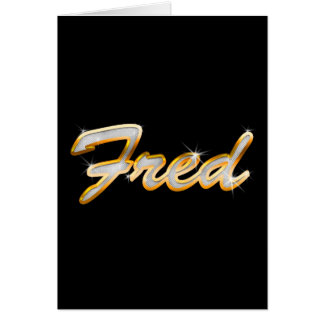 Fred Bling Card