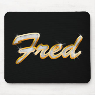 Fred Bling Mouse Pad