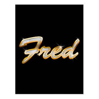 Fred Bling Postcard