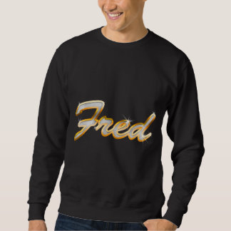 Fred Bling Pullover Sweatshirts