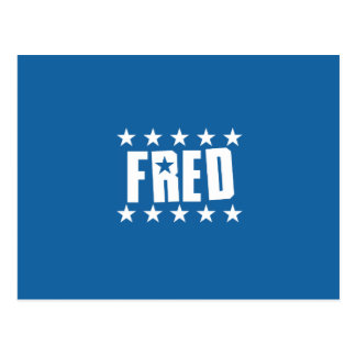 Fred Button 1 Postcard