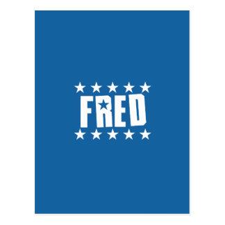 Fred Button 1 Postcard