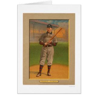 Fred Clarke piratea el béisbol 1911 Tarjetón