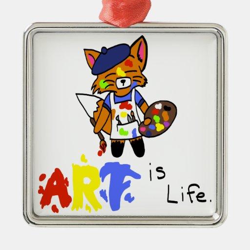 Fred el artista Fox Adorno Para Reyes