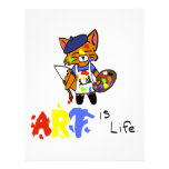 Fred el artista Fox Membretes Personalizados