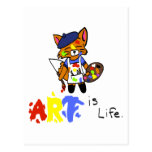 Fred el artista Fox Postales