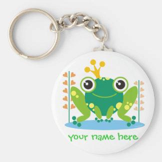 fred el froggy llavero personalizado