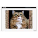 """Fred el gato 15"""" piel del ordenador portátil calcomanía para portátil"""
