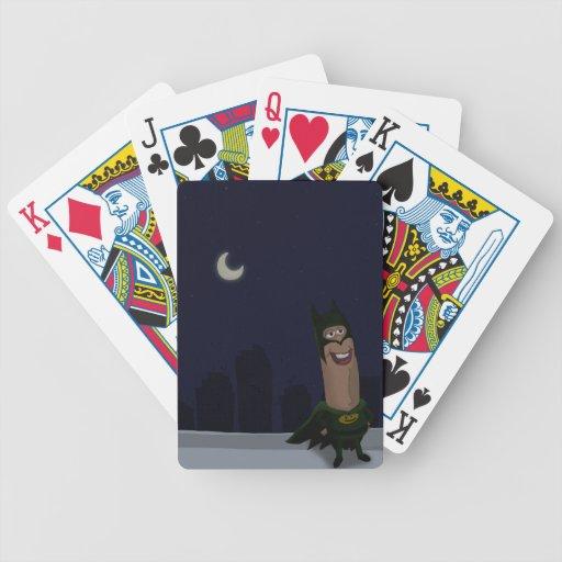 Fred el superhéroe baraja de cartas