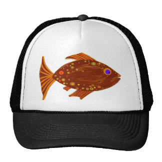 Fred Fish Hats