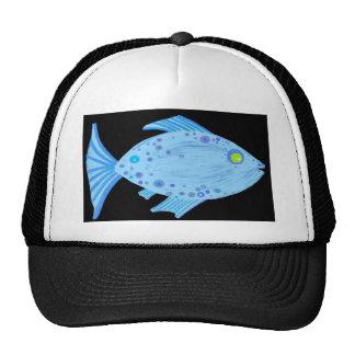 Fred Fish Mesh Hat