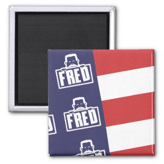 Fred Flag 1 Magnet
