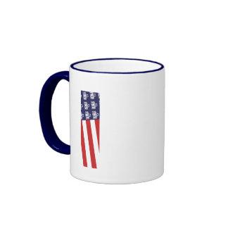 Fred Flag 1 Ringer Mug