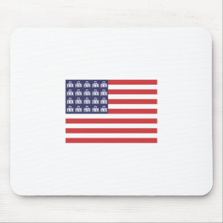 Fred Flag Mouse Pad