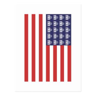 Fred Flag Postcard
