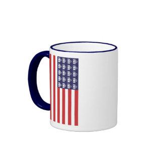 Fred Flag Ringer Mug