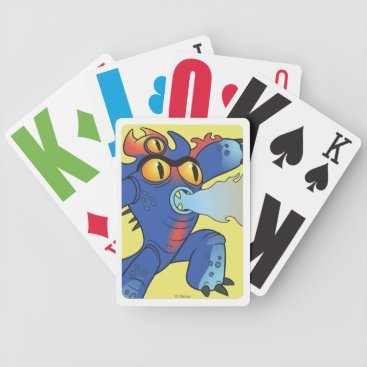 flamethrowers Fred Flamethrowers Bicycle Playing Cards