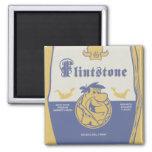 Fred Flintston Big Bold Belly Wash 2 Inch Square Magnet