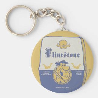 Fred Flintston Big Bold Belly Wash Keychain