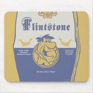 Fred Flintston Big Bold Belly Wash Mouse Pad