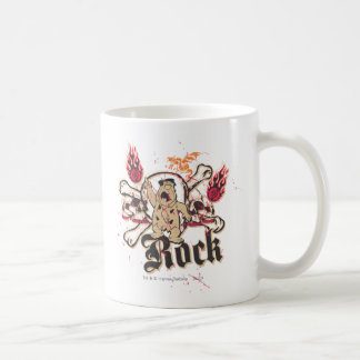 Fred Flintstone  Rock Classic White Coffee Mug
