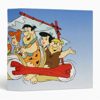 Fred Flintstone Wilma Barney and Betty PEBBLES™ Binder