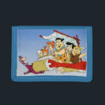 """Fred Flintstone Wilma Barney and Betty PEBBLES™ Tri-fold Wallet<br><div class=""""desc"""">Fred Flintstone Wilma Barney and Betty Pebbles Bam</div>"""