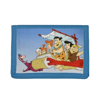 Fred Flintstone Wilma Barney and Betty PEBBLES™ Tri-fold Wallet