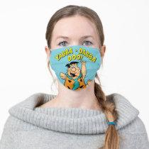 Fred Flintstone Yabba-Dabba Doo! Adult Cloth Face Mask