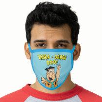 Fred Flintstone Yabba-Dabba Doo! Face Mask