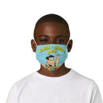Fred Flintstone Yabba-Dabba Doo! Kids' Cloth Face Mask