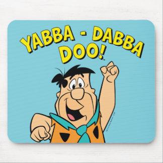 Fred Flintstone Yabba-Dabba Doo! Mouse Pad