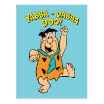Fred Flintstone Yabba-Dabba Doo! Postcard