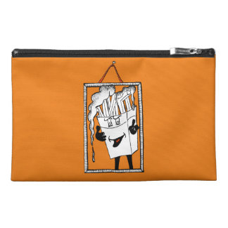 """'Fred Fries' 9""""x6"""" Pencil Case. Travel Accessory Bag"""