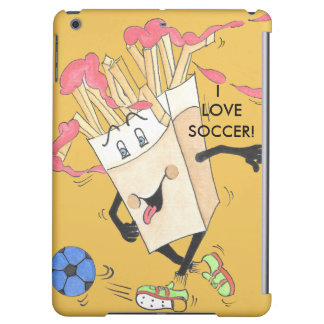 'Fred Fries' Yellow Savvy iPad Air Case