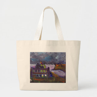 FRED GLADYS AND TREVOR LARGE TOTE BAG