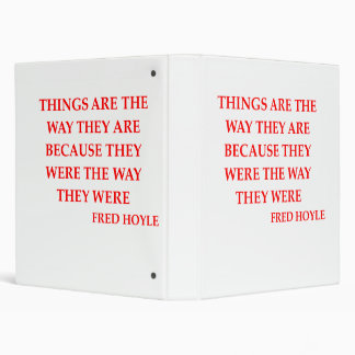 fred hoyle quote binder