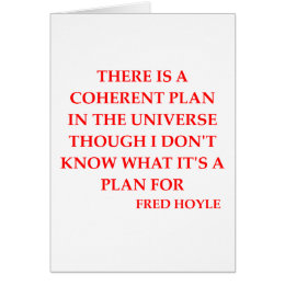 fred hoyle quote card